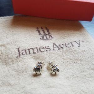 James Avery Unicorn Earrings